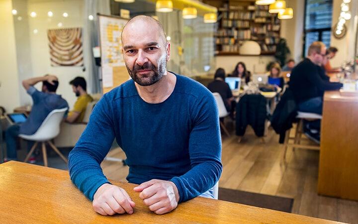 Ratkó Zoltán - Kaptárarcok. KAPTÁR coworking Budapest