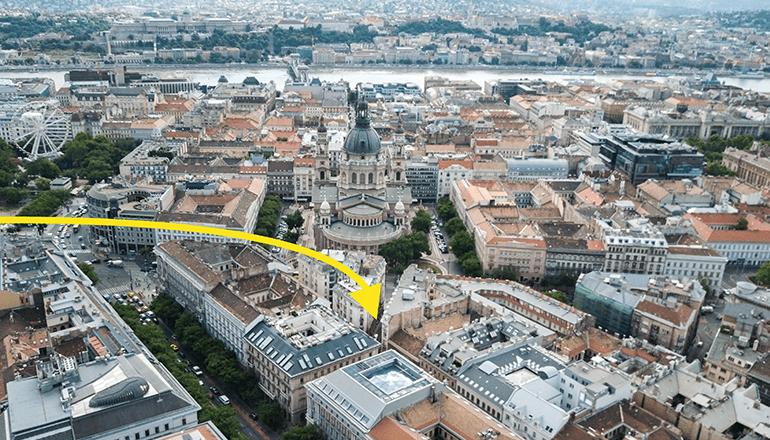 Budapest szívében. KAPTÁR coworking Budapest