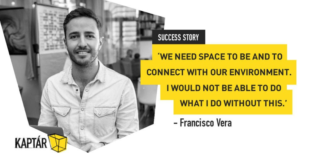 KAPTÁR success stories – Francisco Vera