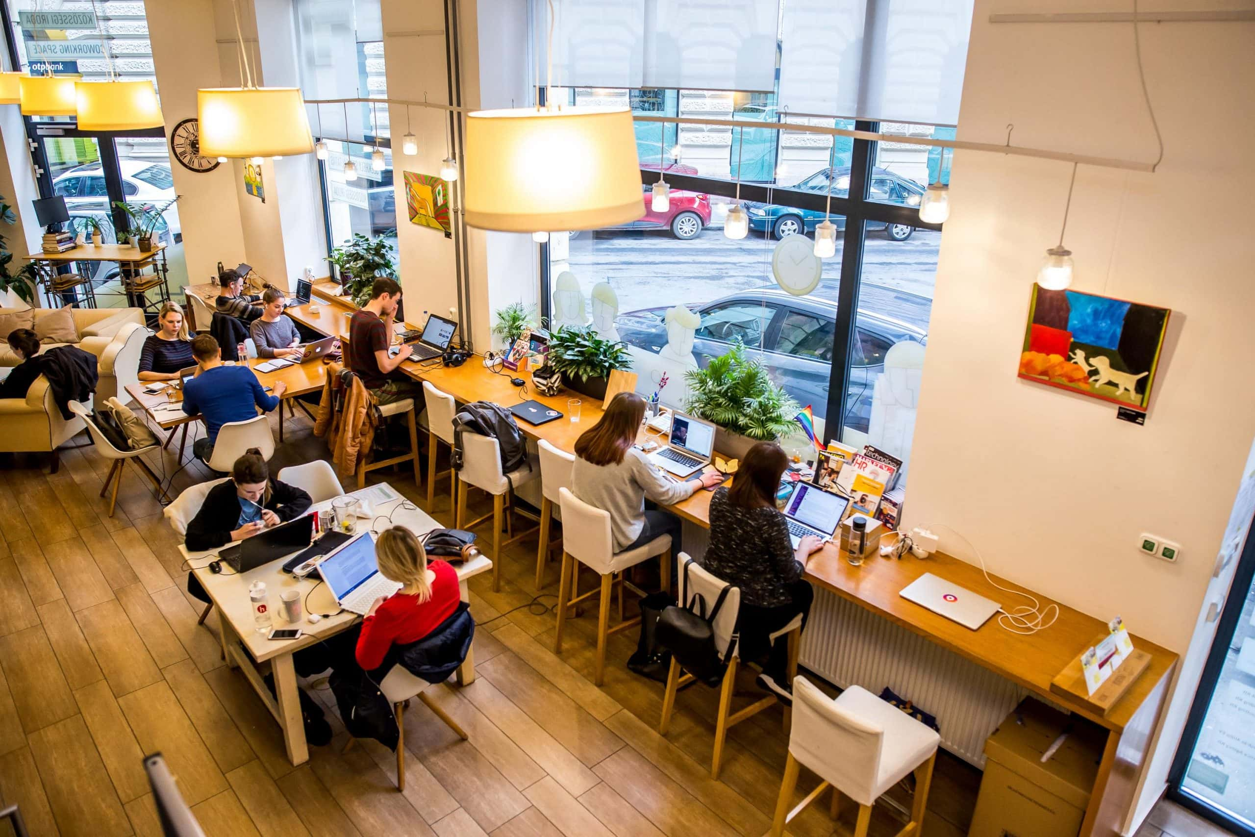Big Companies and Coworking