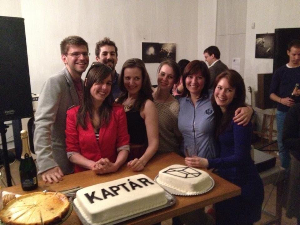 KAPTÁR torta. KAPTÁR coworking Budapest
