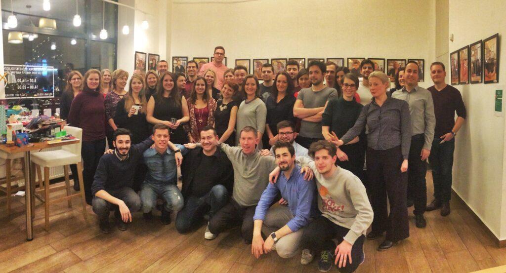 A közösség. KAPTÁR coworking Budapest