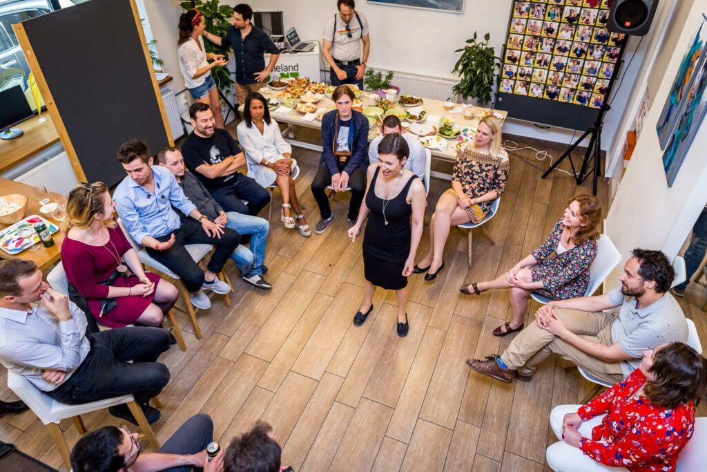 KAPTÁR születésnap 10. KAPTÁR coworking Budapest