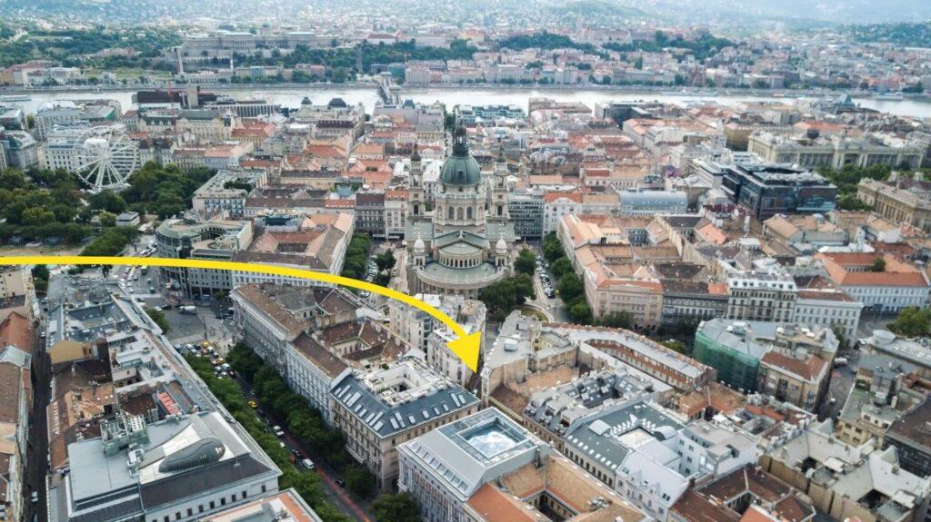 Budapest szívében, közel mindenhez és mindenkihez. KAPTÁR coworking Budapest
